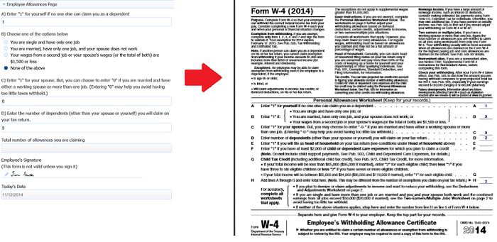 form w 4 spanish  Generate Pixel Perfect PDFs - frevvo 11 - Confluence