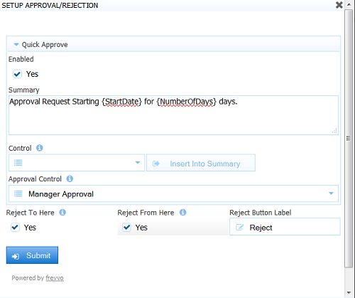 Leave Approval Workflow Tutorial frevvo 61 Confluence – Leave Form Templates