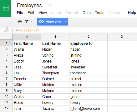 Create A Dynamic Pick List From A Google Sheet Frevvo Confluence - Create google sheet