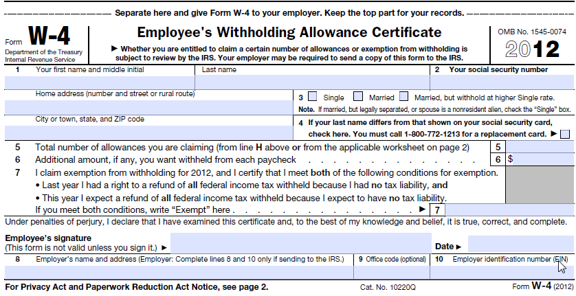 Generate Pixel Perfect PDFs frevvo 5 Confluence – W-4 Allowances Worksheet